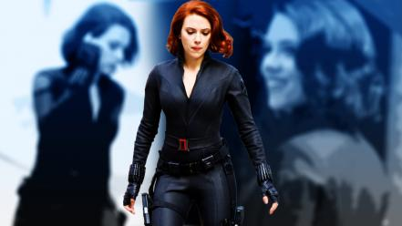 Scarlett johansson black widow natasha romanoff Wallpaper