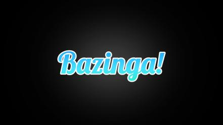 The big bang theory (tv serie) bazinga wallpaper