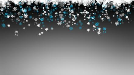 Abstract snow wallpaper