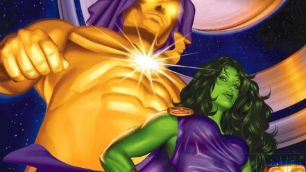 Comics she hulk marvel Wallpaper