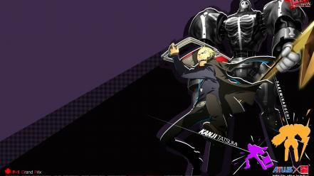 Video games scars persona 4 watermark tatsumi kanji Wallpaper