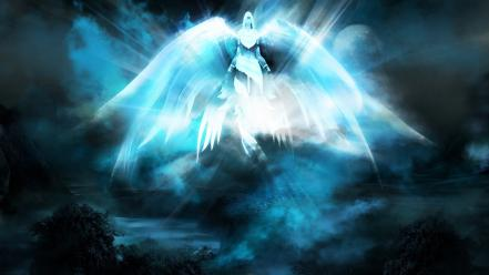 Video games world of warcraft spirit pc angel wallpaper