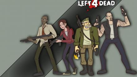 4 dead artwork zoey (left4dead) character illustration Wallpaper