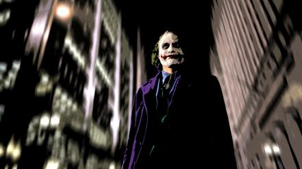 Batman the joker artwork dark knight Wallpaper