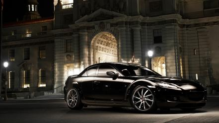 Black cars mazda samurai rx-8 wallpaper