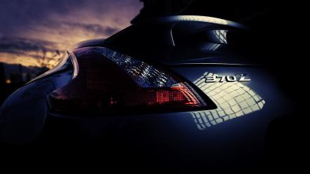 Cars nissan fairlady z34 370z taillights wallpaper