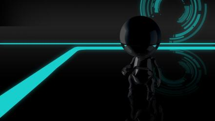 Dark the hitchhikers guide to galaxy tron crossovers wallpaper