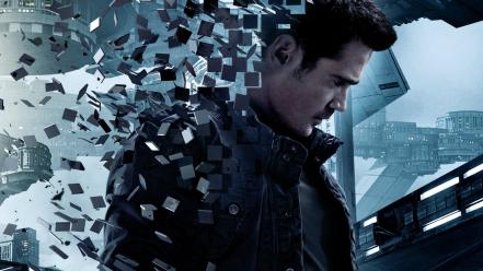 Movies colin farrell movie posters total recall Wallpaper