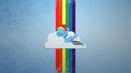 My little pony ponies rainbow dash Wallpaper