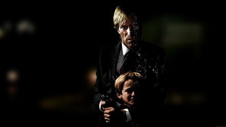 The dark knight harvey dent scared children Wallpaper