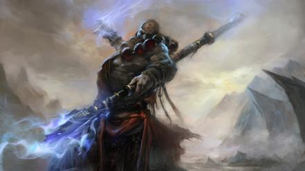 Video games fantasy art artwork diablo iii monk wallpaper