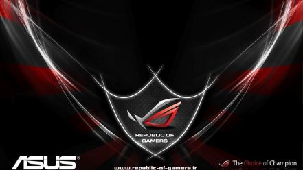 Asus rog republic of gamers wallpaper