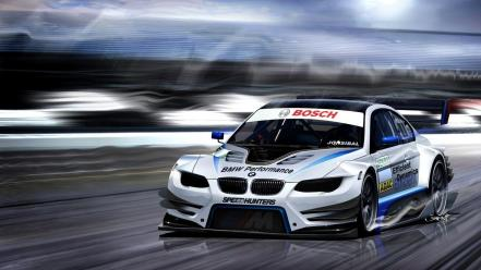 Bmw m3 e92 racing cars Wallpaper