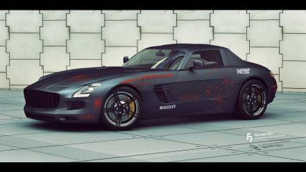 Cars vehicles transports tuning wheels sls amg automobiles Wallpaper