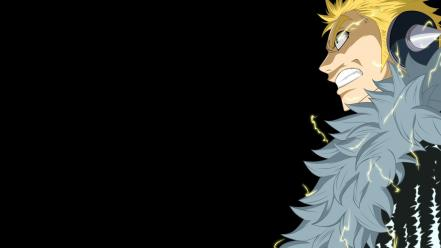 Comics fairy tail simple background laxus draer Wallpaper