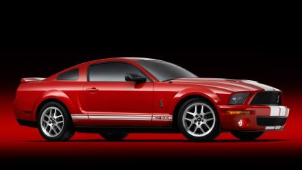 Red cars studio ford shelby production 2007 gt500 wallpaper