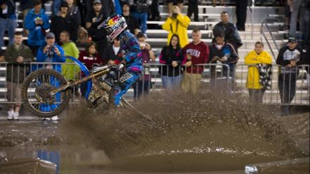 Yamaha mud james stewart supercross ama js7 wallpaper
