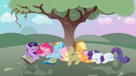 Afternoon my little pony: friendship is magic Wallpaper