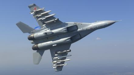 Aircraft mig-35 fulcrum-f mikoyan-gurevich russian air force Wallpaper