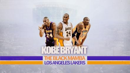 Kobe bryant los angeles lakers black mambas wallpaper