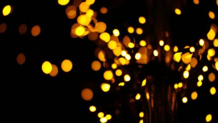 Lights bokeh wallpaper