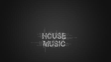 Minimalistic house music Wallpaper