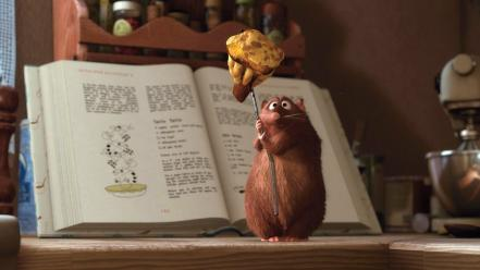 Movies animals ratatouille rats Wallpaper