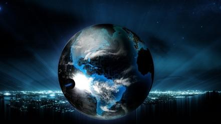 Planets earth 3d Wallpaper