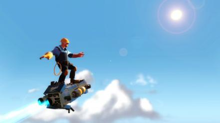 Video games team fortress 2 engineers wallpaper