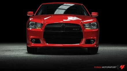 360 dodge charger srt8 forza motorsport 4 wallpaper