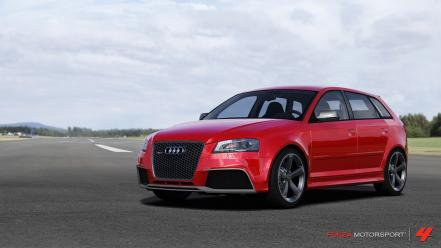 360 forza motorsport 4 audi rs3 sportback wallpaper