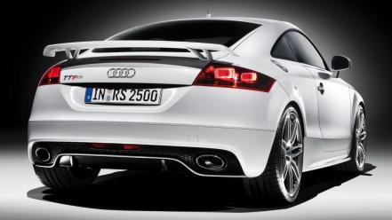 Audi Tt Rs Rear wallpaper