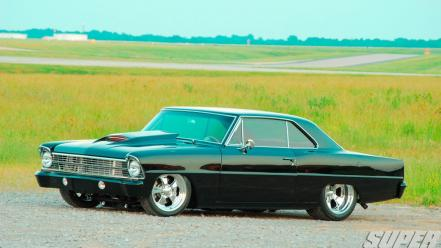 Cars muscle chevrolet 1967 super chevy magazine wallpaper