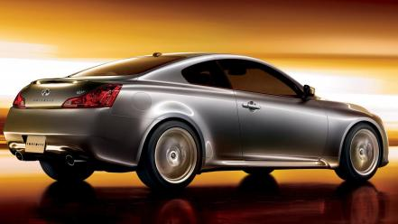 Infiniti G37 Rear Wallpaper