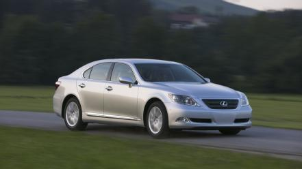 Lexus Is460 Silver wallpaper