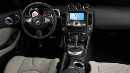 Nissan 370z dash wallpaper