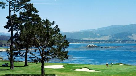 Pebble Beach Wallpaper