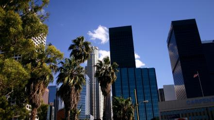 California skyscrapers los angeles skyscapes cities Wallpaper
