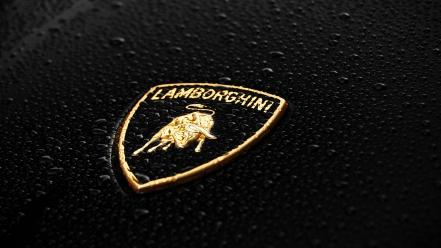 Cars lamborghini logos Wallpaper