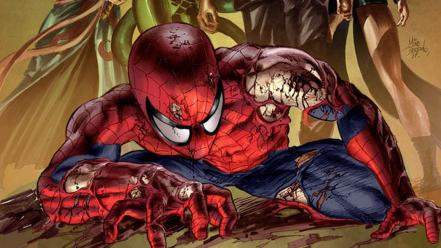 Comics spider-man marvel new avengers Wallpaper