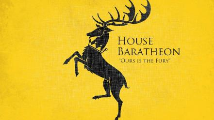 Game of thrones house baratheon stag wallpaper