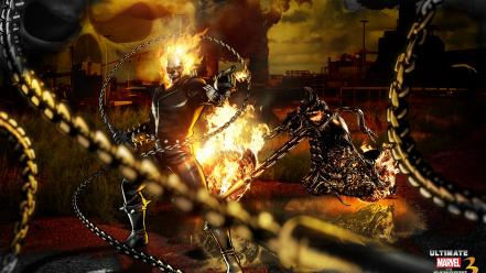 Ghost rider marvel comics wallpaper