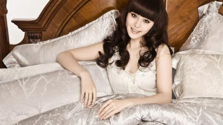 People chinese asians faces fan bing girls wallpaper