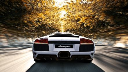 Vehicles motion blur murcielago 5 blurred speed wallpaper
