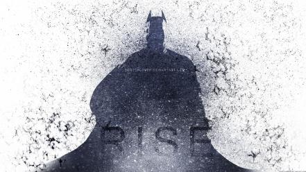 Batman the dark knight rises fan art Wallpaper