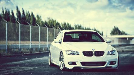 Bmw trees cars wallpaper