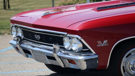 Cars chevrolet vehicles chevelle ss 1955 wallpaper