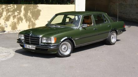 Green mercedes benz 450 wallpaper