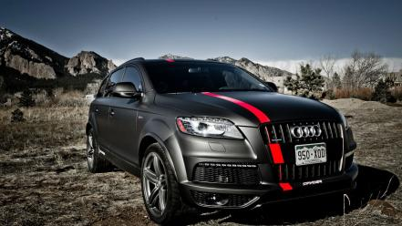 Supercars audi q7 suv german cars wallpaper