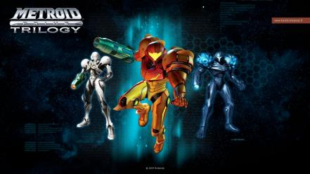 Video games samus aran metroid prime wallpaper